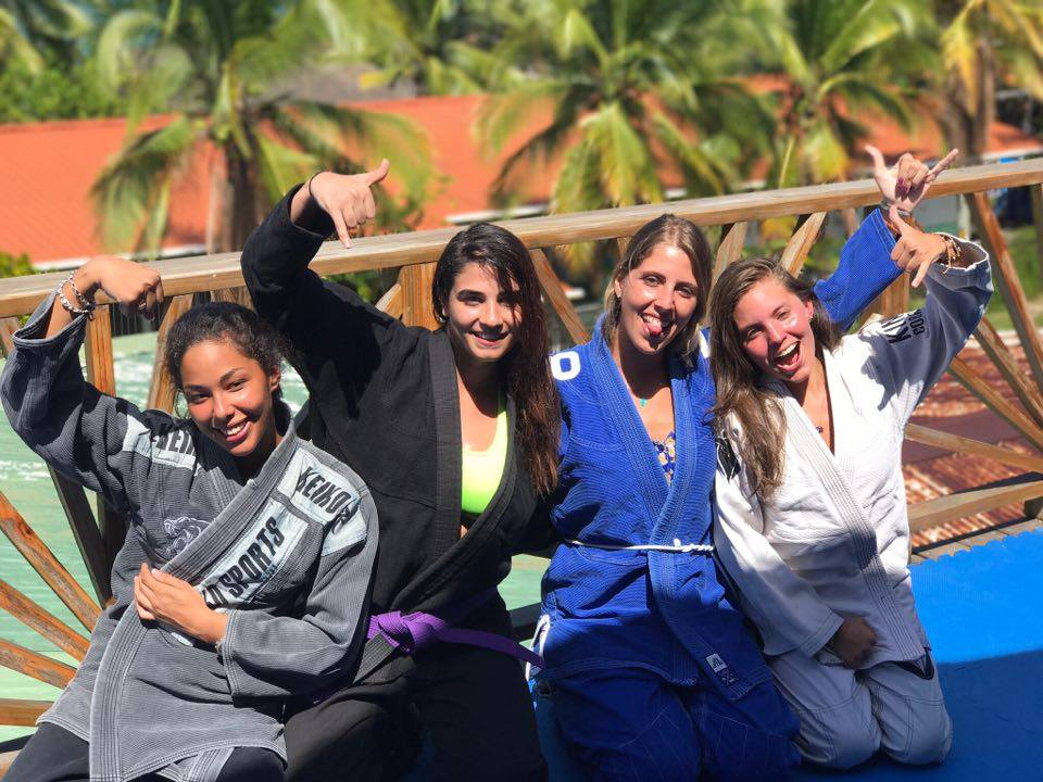bjj girls - bonding and networking