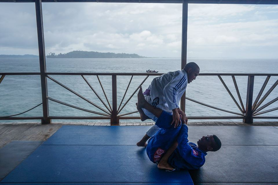 Javier Smith & Alex Jiu jitsu caribbean bocas fight